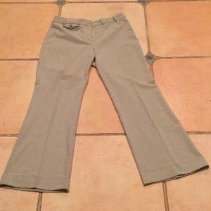 Ladies light grey Limited slacks. Size 6 stretch.